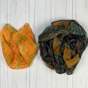 2 scarf bundle
